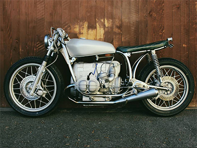 BMW R100 Custombike Cafe Racer Motorrad Umbau
