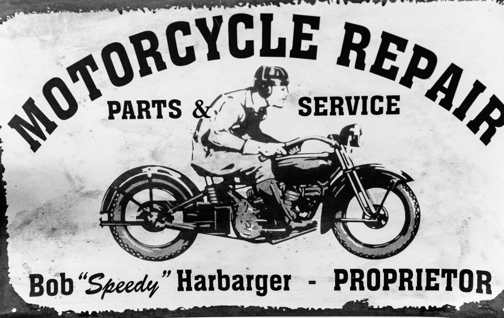 Motorcycle Repair sign