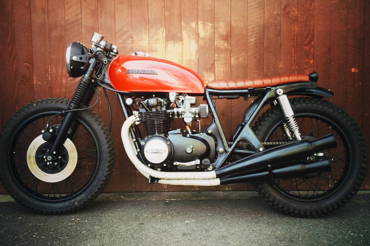 Honda CB500 Four 1974 Cafe Racer Motorrad Umbau Custom Motorcycle
