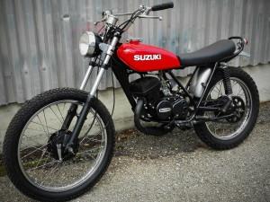 Suzuki TS 125, 2 Takt – SOLD