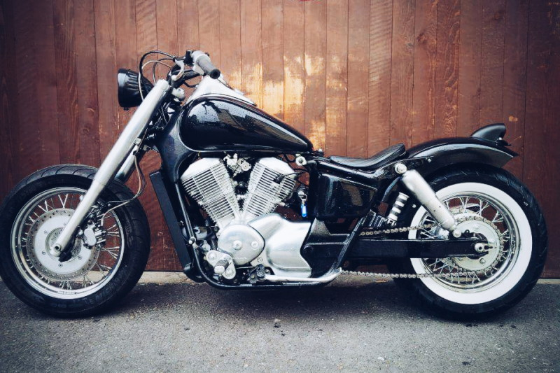 Honda Shadow 750 Custom Bobber Umbau