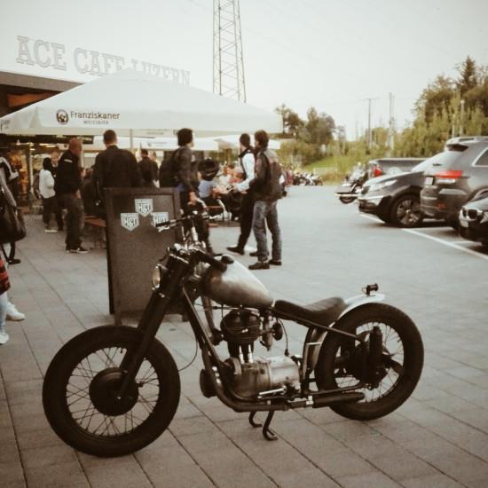 Umbau BMW R25 R25/3 Custom Bike Motorrad Bobber