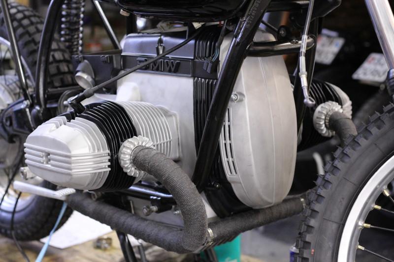 Custom BMW Umbau Motorcycle R80 Vintage