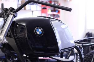 BMW R80 kurz vor der Vollendung