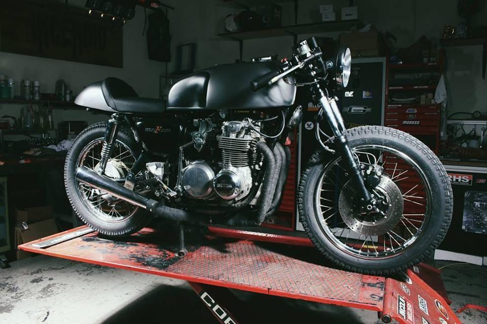 Honda CB500 Custom Racer Cafe Racer