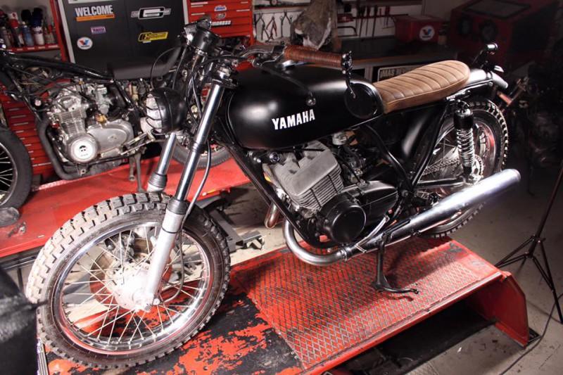 Yamaha RD250 1974