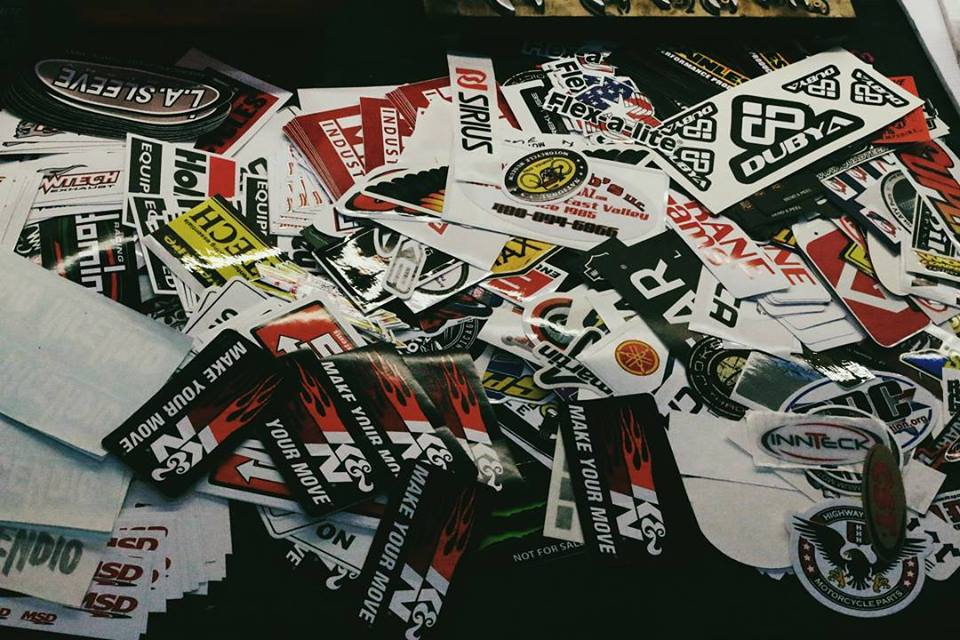 Decals and Stickers available!