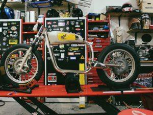 Umbau BMW R100 Motorrad Custombike