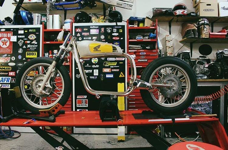 Umbau Projekt Motorrad Honda