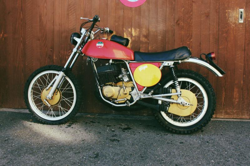 Laverda Classic Cross Enduro Trial 250ccm Classic Motorcycle Oldtimer Enduro Motocross