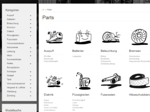 Onlineshop Custom Parts Rebuilt Cafe Racer Scrambler Umbau Onlineshop für Custom Parts Motorräder Cafe Racer Ersatzteile