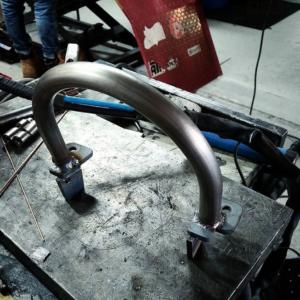 Heckkürzung Yamaha SR500 SR400 Heckbügel Loop Gutachten DTC FAKT