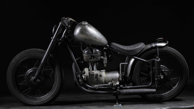 BMW Umbau Motorrad Bobber Custom