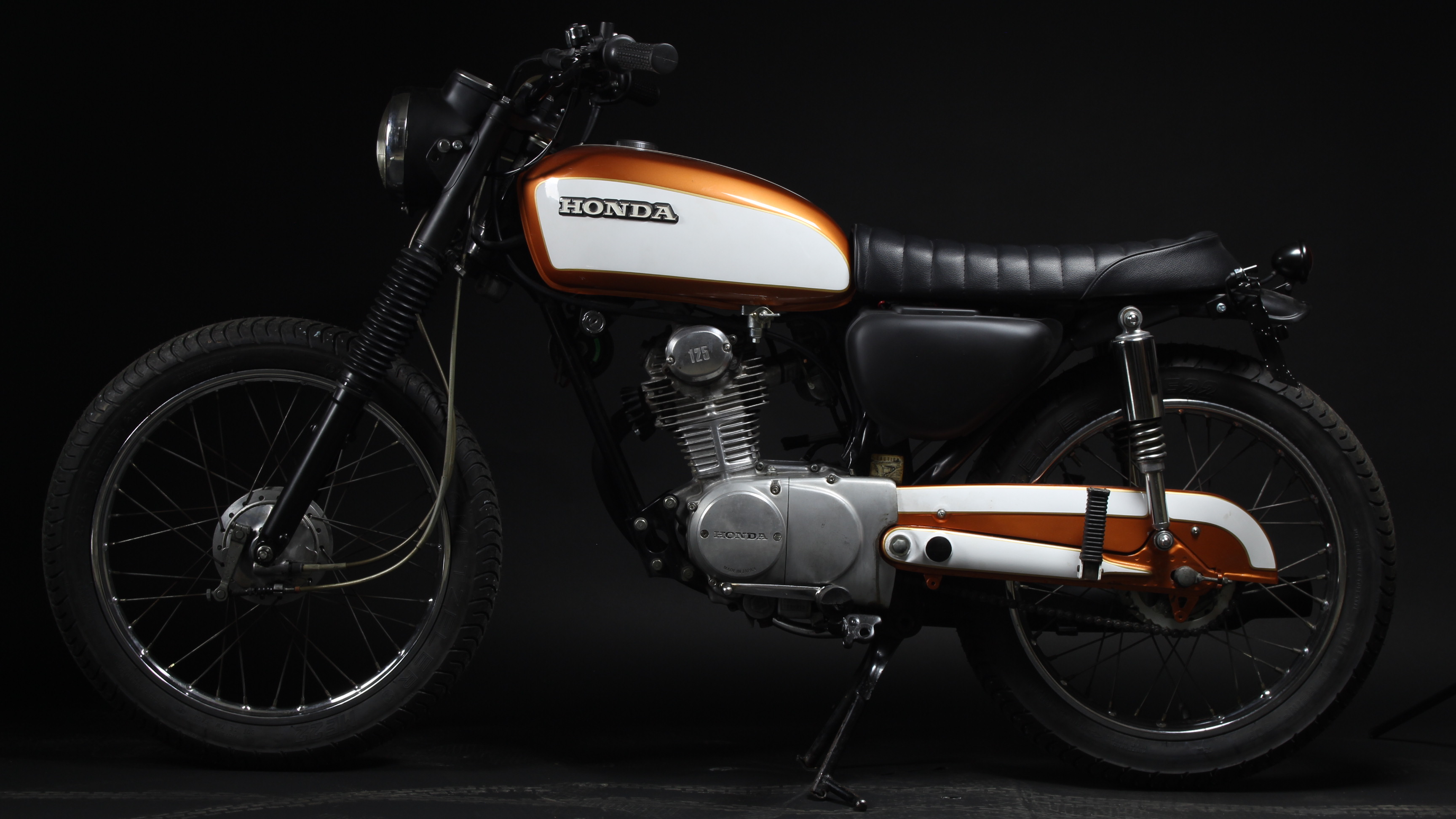 Honda CB125 S Custom Restauration Umbau