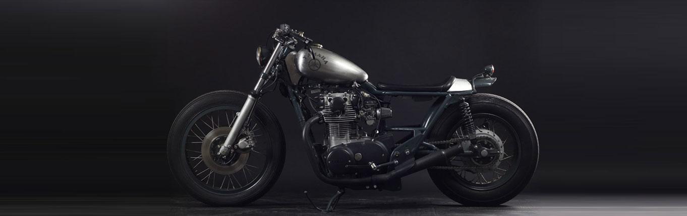 Yamaha motorrad umbau wollerau zurich schweiz