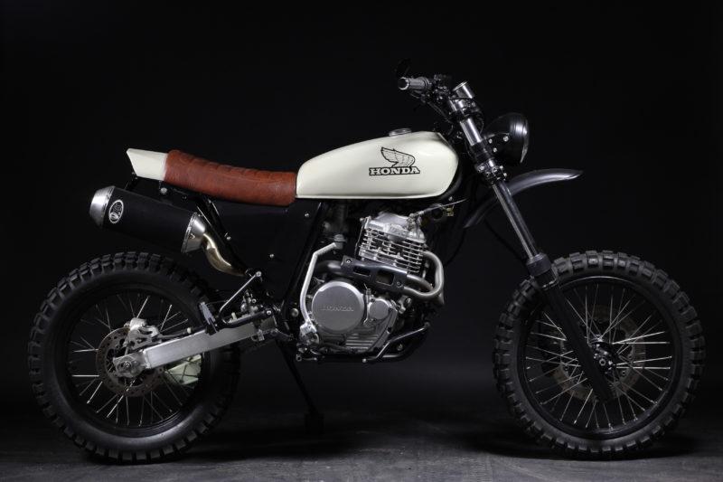 Honda XR600 Enduro Custom Umbau Motorrad Enduro Motorcross