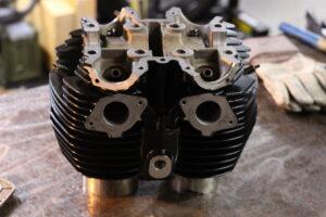 Motorenteile Pulverbeschichten